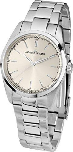 Jacques Lemans Nostalgie N-1558A Gents Metal Bracelet Watch