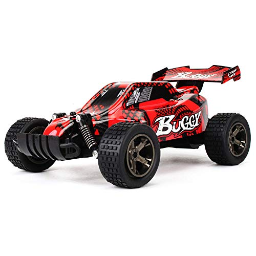 Z.J-TTravel Mini-ferngesteuertes Auto für Kinder, 1: 20 Geländewagen 15-20 km/h Hochgeschwindigkeits-RC-Rennwagen Brushed Dirt Bike-Fernbedienung Climb Car RTR (Dirt Mini Rc Bike)