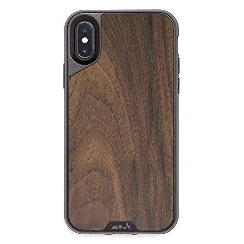 Mous Hülle für iPhone X/XS - Echtes Walnussholz - einschl. Bildschirmschutz Iphone Zubehör Cases