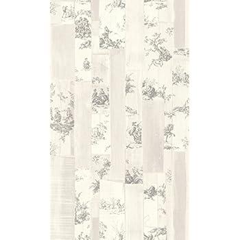 amelia toile de jouy tapete 262987 anthrazit schwarz k che haushalt. Black Bedroom Furniture Sets. Home Design Ideas