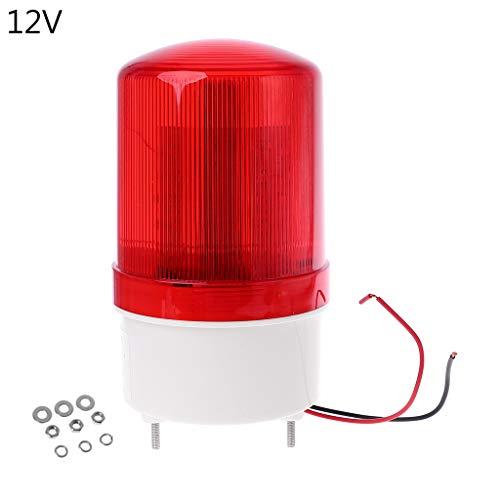 BIlinli 220 V / 12 V / 24 V LED Alarm Licht Warnlampe Signal Summer Rotary Strobe Flash Sirene Notfall Sound Beleuchtung Hummer