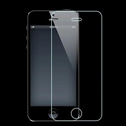 Beige Glasschirm (Balai Vorne und Hinten erstklassiger gehärteter Glasschirm-Film für iPhone 5 5S Entwerfer-Qualitäts-schützender Anzeigeschirm für iPhone 5 5S)