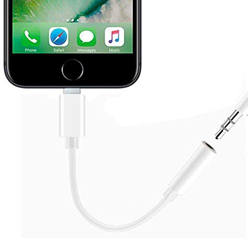 Adaptador Auriculares 3.5mm Audio Cable Jack Converosr