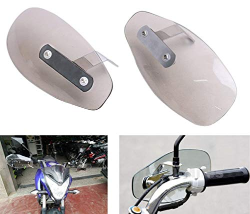 AirainMFC Protector de Viento para Manillar de Motocicleta, 8 mm/10 mm