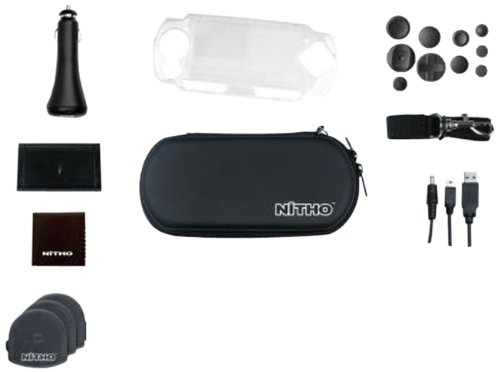 Nitho Deluxe 18 Kit for PSP (Black)