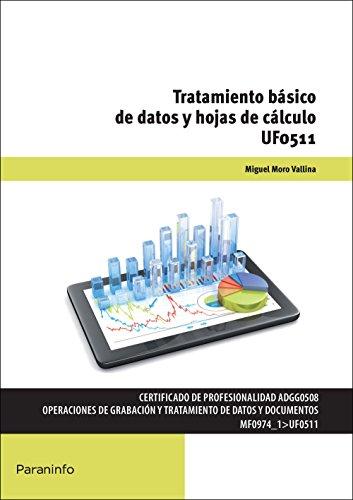 Tratamiento básico de datos y hojas de cálculo (Cp - Certificado Profesionalidad)