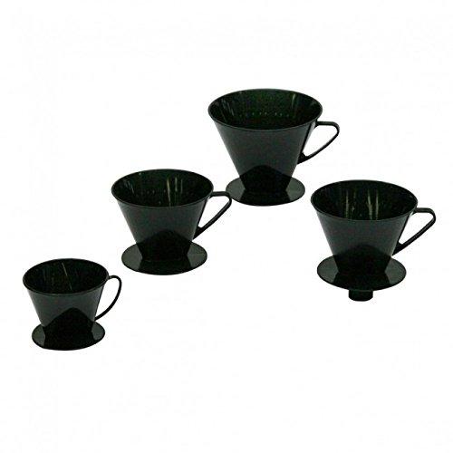 AXENTIA Kaffeefilter, Kaffeedauerfilter, Kaffeebereiter, Permanentfilter aus Kunststoff, für 2 Tassen - Made in Germany