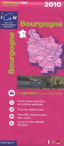 Bourgogne : 1/250 000 par IGN