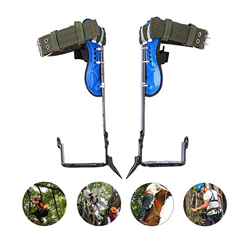 Edelstahl rutschfest Baumsteigeisen Kletterhilfen, Klettern Bäume Artefakt Einfach Zu Bedienen Für Kommissionierung Obst Jagd Überwachung Klettern