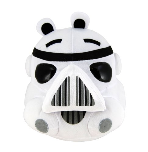 Angry Birds - Star Wars - Storm Trooper Plush - 19cm 8""