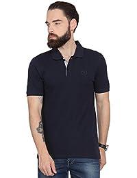 Urban Nomad Navy Blue Half Sleeves T-shirt