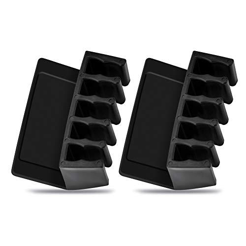 Nosii Universal Office Wire Kabelclips Desktop Cord Divider Kabel-Organizer mit 5 Steckplätzen