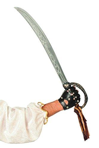 Jannes Deluxe 40007 Piraten-Schwert Caribbean pirate (70 Cm) Kostüm Verkleidung Fastnacht Party Karneval (Pirat Caribbean Deluxe Kostüme)
