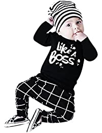 ropa bebe niño invierno 2017 Switchali otoño recien nacido Bebé Niña manga larga Camisetas moda blusas + Pantalones largos Conjuntos de ropa para Unisex bebe