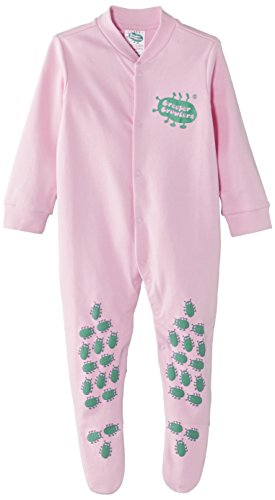 Creeper Crawlers Unisex - Baby Strampler Creeper Crawlers East Grip Crawl Suit, 12-18 months, Pink, Gr. 86, Rosa (Pink