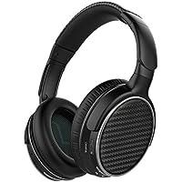 Mixcder HD401 Auriculares Bluetooth con Tecnología APTX-Latencia Cero, Cascos Inalambricos con Manos Libres de Llamada, 18 Horas de Juego, para iPhone, Samsung, Huawei,Tablet, PC, TV y más - Negro