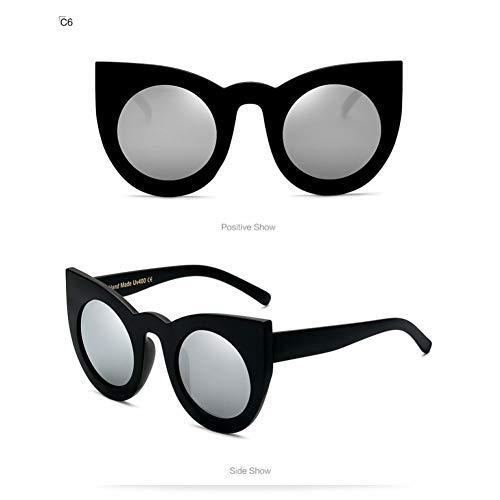 Siwen MS 2017 Mode Sonnenbrillen Frauen Luxury Vintage Sonnenbrille Weibliche Cat Eye Sunglass Für Frauen Mädchen Brillen,C06