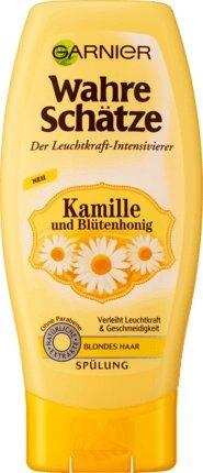 Garnier Wahre Schätze Spülung Kamille mit Blütenhonig, 200 ml (1er Pack)