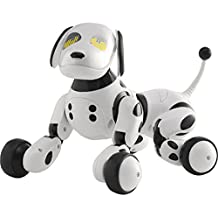 Spin Master - Zoomer, mascota electrónica (6024956) (sólo entiende alemán, holandés e italiano)
