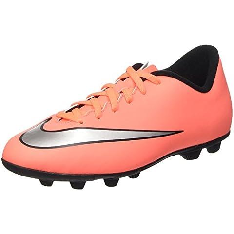 Nike Jr Mercurial Vortex Ii Fg-r, Zapatillas de Deporte Para Niñas