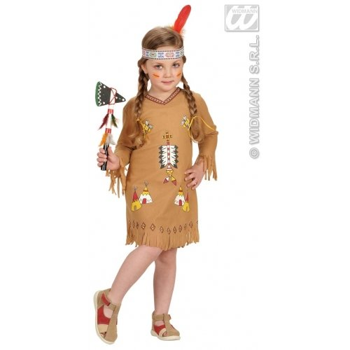 Desconocido Indianer-Kostüm für Mädchen