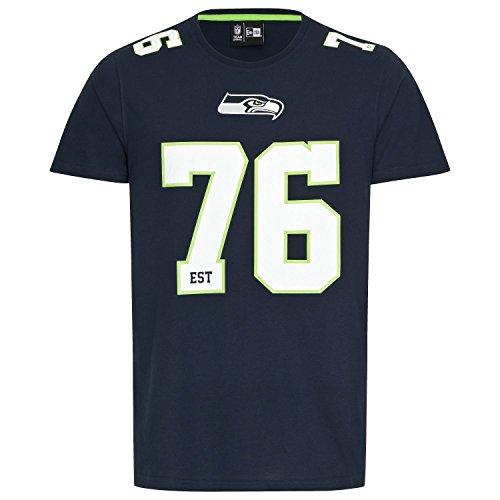 New Era Herren T-Shirt Dry Era NFL No Tee Seattle Seahawks S (Sweatshirts Für Nfl-seahawks Männer)
