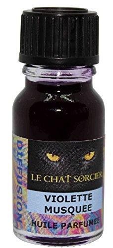 Le Chat Sorcier - Huile Parfumée - Violette Musquée (10ml)