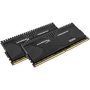 HyperX Predator HX430C16PBK4/64 kit 64GB DDR4 Non-ECC CL16 DIMM XMP (Skylake Compatible) schwarz