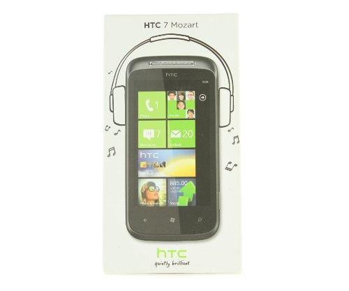 HTC Mozart 7 Smartphone (9,4 cm (3,7 Zoll) Display, Touchscreen, 8 Megapixel Kamera, T-Mobile)