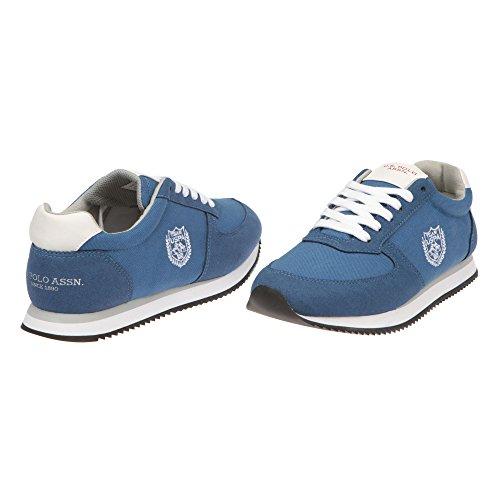 U.S. Polo Scarpe Running da Donna, Chiusura con Lacci - MOD. NOBIW4193S7-CH1 Blu jeans