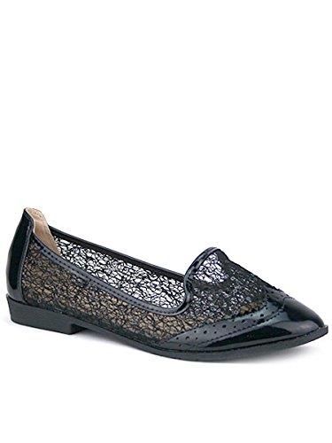 Cendriyon, Slippers Noir résille BELTINA Mode Chaussures Femme Noir