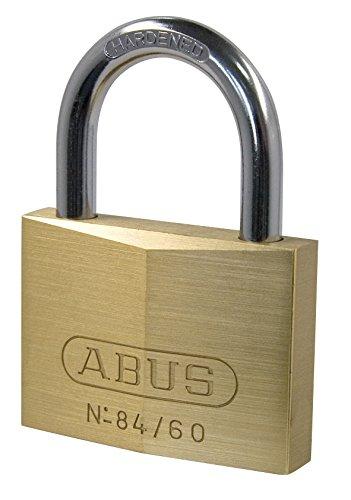 ABUS 1152884/60Vorhängeschloss aus Messing, witterungsbeständig, 60mm