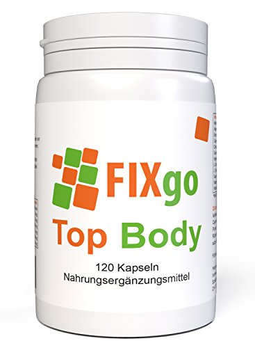FIXgo Top Body | Stoffwechsel | Apfelessig Pulver | 120 Kapseln (Pille Low)
