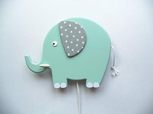 Schlummerleuchte im Elefanten-Design