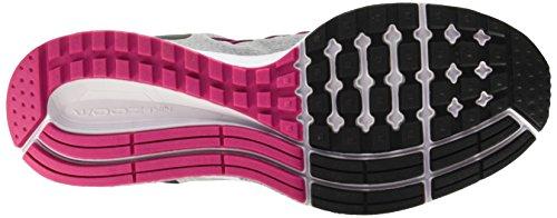 Nike Wmns Air Zoom Pegasus 32, gymnastique femme Jaune (Wolf Grey/Noir-Vivid Pink)