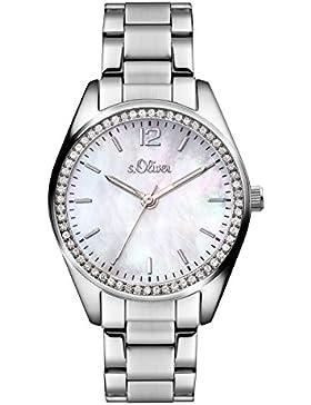 s.Oliver Time Damen-Armbanduhr SO-3320-MQ