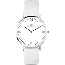 Marc Brüg Ladie's Minimalist Watch Kensington 36 Hygge