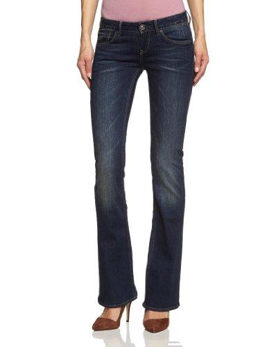 G-STAR Damen Bootcut Jeanshose 3301, Blau (Dark Aged), 25W / 30L