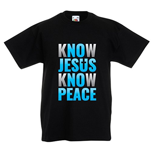 funny-t-shirts-for-kids-know-jesus-know-peace-christian-clothing-jesus-saves-t-shirt-7-8-years-black