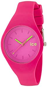 ICE-Watch - ICE.NPK.S.S.14 - Ola - Montre Mixte - Quartz Analogique - Cadran Rose - Bracelet Silicone Rose