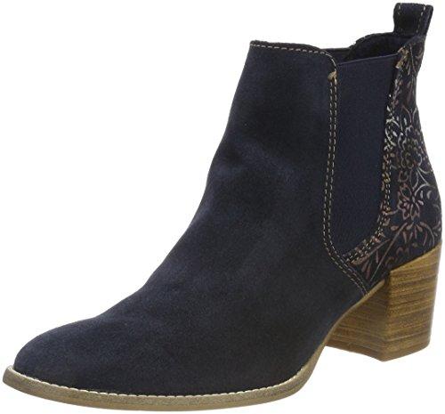Tamaris Damen 25303 Chelsea Boots, Blau, 40 EU