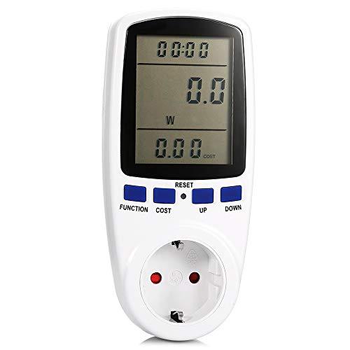 Medidor de Vatios de Potencia, Medidores de Energía de CA 220V Analizador...