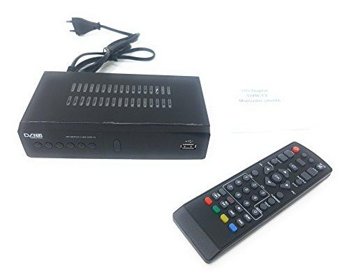 Tiempo de palloncini decodificador receptor digital terrestre HD DVB T2USB...