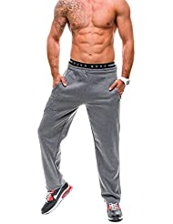 BOLF - Pantalons de sport – HOT RED 3011 – Homme