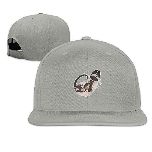Sloth Rocket Lunch Solid Flat Baseball Caps Snapback Hat Unisex,Snapback Caps Women Men Adjustable Baseball Cap Hats