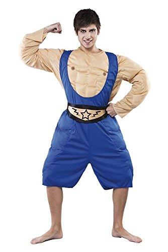 Größe 52 (L) (Wrestling Kostüme Für Männer)