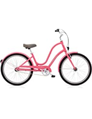 "Electra 286101 Townie Original 3i EQ Vélo pour femme Pink Ladies 3 vitesses Beach Cruiser 26 "", 539251"