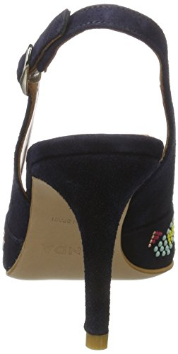 Zinda - 2717, Scarpe con cinturino Donna blu (navy)