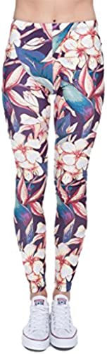 Kukubird Unicorn Flamingo Emoji damen Es Gym Fitness Leggings Running Yoga Skinny Pants Strumpfhosen Größe 6-10...
