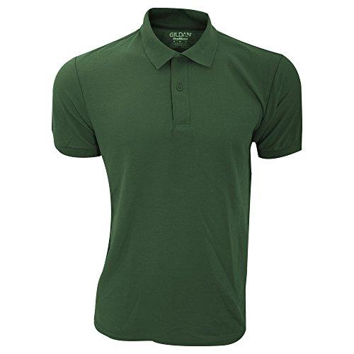 Gildan Herren DryBlend Sport Double Pique Polo Shirt Kastanie